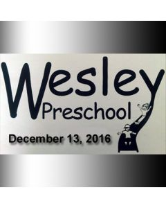 Wesley Preschool Christmas 2016
